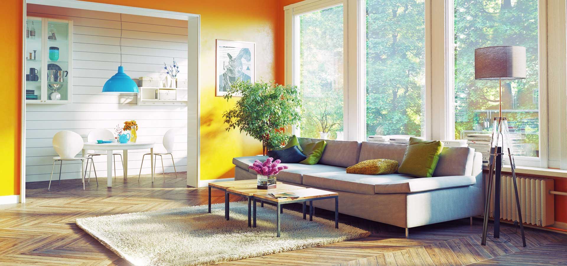 Suunny living room